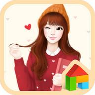 러블리걸(하트뿅뿅) 도돌런처 테마 lovely girl(heart)