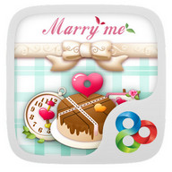 Marry Me GO Launcher Theme