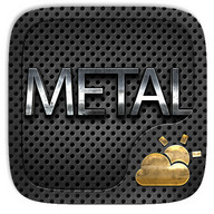 Metal Weather Widget Theme