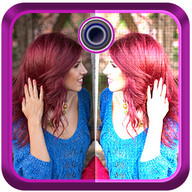 Mirror Cute Girl Photo Editor
