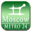Moscow, Russia (map for Subway24)