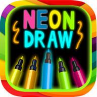 vẽ Neon