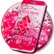Pink Cherry For GO Keyboard