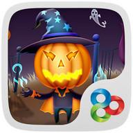 Pumpkin head GO Launcher Theme