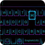 Purple Crystal Kika keyboard