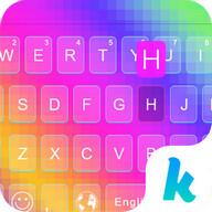 Rainbow  Kika Keyboard Theme