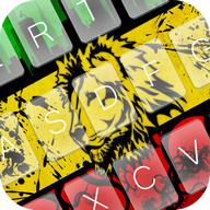 Rasta Keyboard Theme Emoji