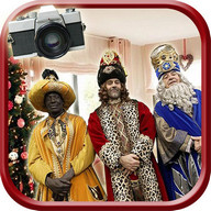Your Photo with Three Wise Men - Christmas Selfies