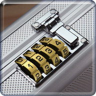 screen lock number briefcase