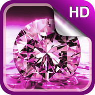 Shiny Diamonds Live Wallpaper