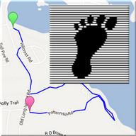 Simply Walking - GPS Map Steps