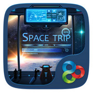 Space trip GO Launcher Theme