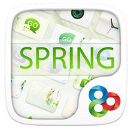 Spring GO Launcher Theme