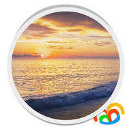 Sunset Beach Live Wallpaper