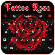 Tattoo Rose Keyboard