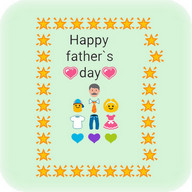 Father's Day Emoji Art Free