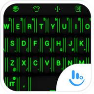 ตีมแป้นพิมพ์ Neon Green
