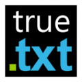 True Txt Reader Writer