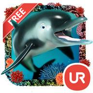 UR 3D Ocean Dolphin Shark HD