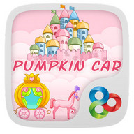 Pumpkin Car GOLauncher EX Theme