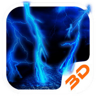 Lightning Storm Tech 3D Theme