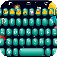 Bubble Love Emoji Keyboard