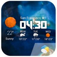 Daily&Hourly Forecast Widget❆
