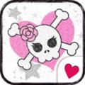 cute pink skull[Homee ThemePack]