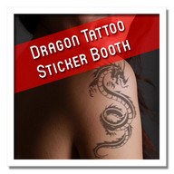 Dragon Tattoo Sticker Booth