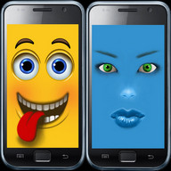 Galaxy S4 Funny Face, Smileys