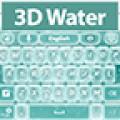 GO Keyboard 3D Water Theme