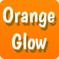 GO Keyboard Orange Glow Theme
