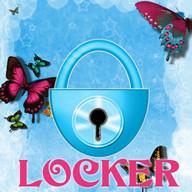 Tema Biru rama GO Locker
