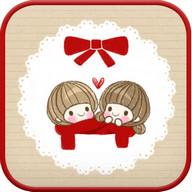 dasom(love) go sms theme