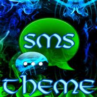 Green Smoke Theme GO SMS Pro