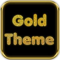 Gold Shine Theme GO Launcher