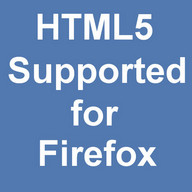 HTML5 Supported for Firefox