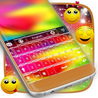 Tema Multi Warna Keyboard