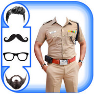 Man Police Suit Photo Editor - Men police dress