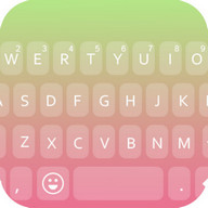Emoji Keyboard - Peach Pink