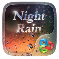 Night Rain GO Launcher Theme