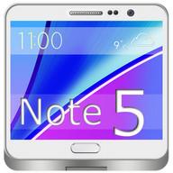 Note 5 Launcher ve Tema