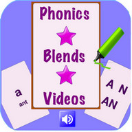 Phonics and Blends Flashcards