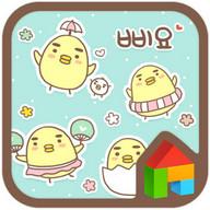 Sticker dodol launcher theme