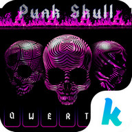 Punk Skull ? Keyboard Theme