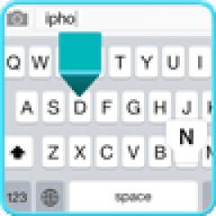 Classic Keyboard Android App APK (com gl iphone5 keyboard