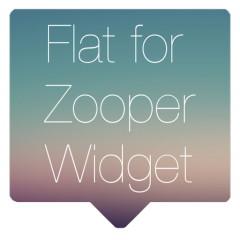 Flat for Zooper Widget Full