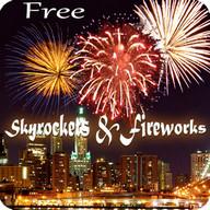 Skyrocket & Fireworks Live Wallpaper