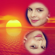 Sunset Photo Collage Editor