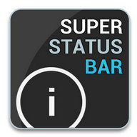 Super Status Bar - A SUPER status bar for Android